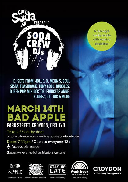 Soda Crew Djs Flyer