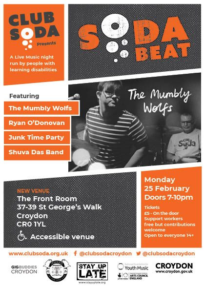 soda beat - Flyer 25thfeb