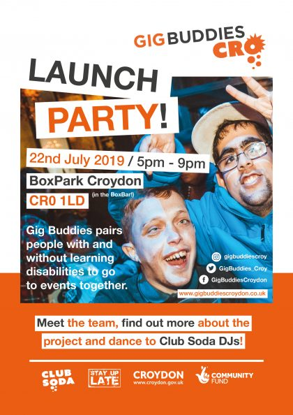 Launch Party Digital Flyer 19