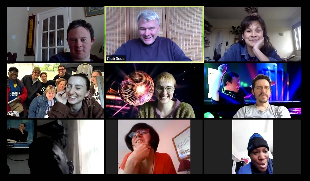 Image of Soda Crew Online meeting on Zoom